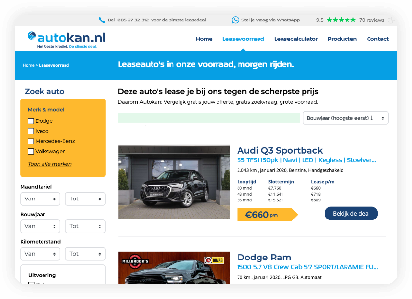 Website beheer en redesign